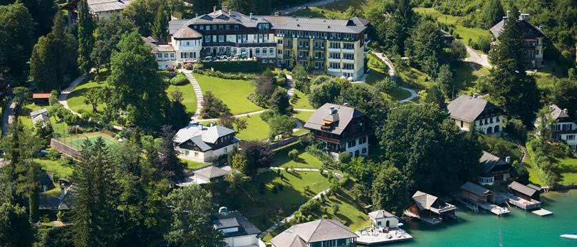 Hotel Billroth, St. Gilgen, Salzkammergut, Austria - View of the Hotel exterior.jpg
